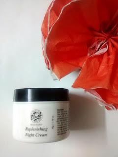 Product Review - Blush Cosmetics Replenishing Night Cream