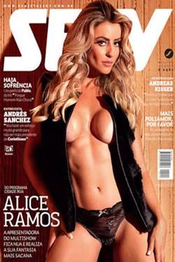 Capa Sexy Alice Ramos Junho 2015 Torrent