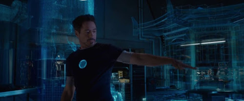 Screen Shot Of Hollywood Movie Iron Man 3 (2013) In English Full Movie Free Download And Watch Online At Downloadingzoo.Com
