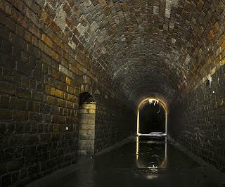 Brisbane underground Draining