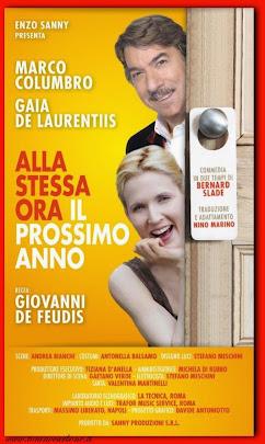 """""""alla stessa ora il prossimo anno"""" Teatro Comunale di Torre Santa  Susanna"""