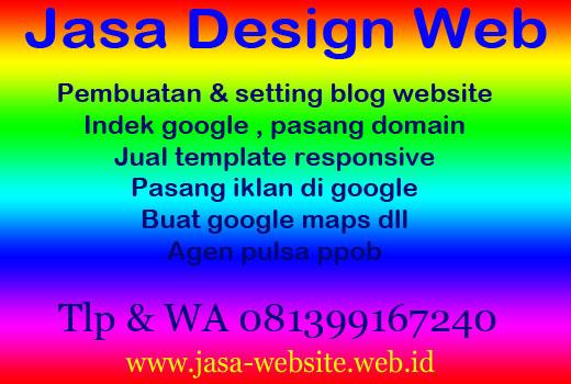 Jasa Setting Blog Website ~ BEGE