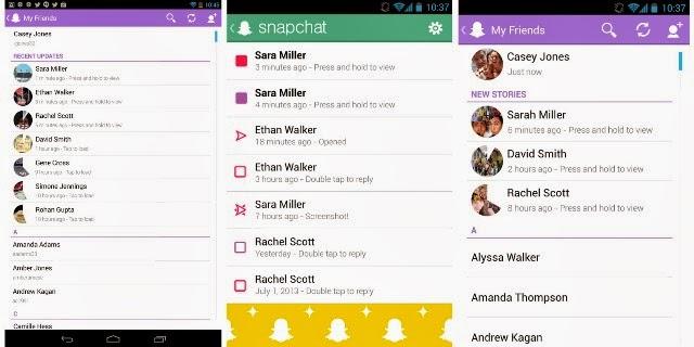 Snapchat apk terbaru