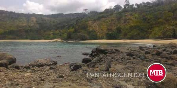 Pantai Nggenjor Trenggalek, Surganya Karang Beno