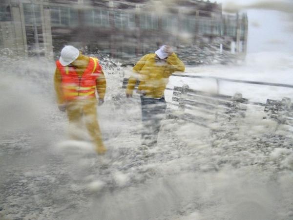 Hurricane Irene Destruction in America