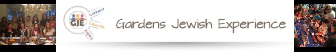 Gardens Jewish Experience