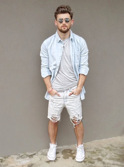Looks Masculinos com All Star, em Alta!