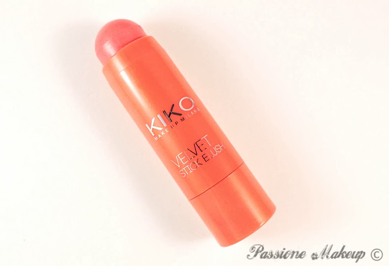 Kiko Velvet Stick Blush Intuitive Rose Coral