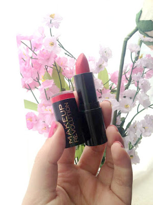 makeup revolution lady lipstick review