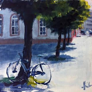 Pauliner Strasse by Liza Hirst