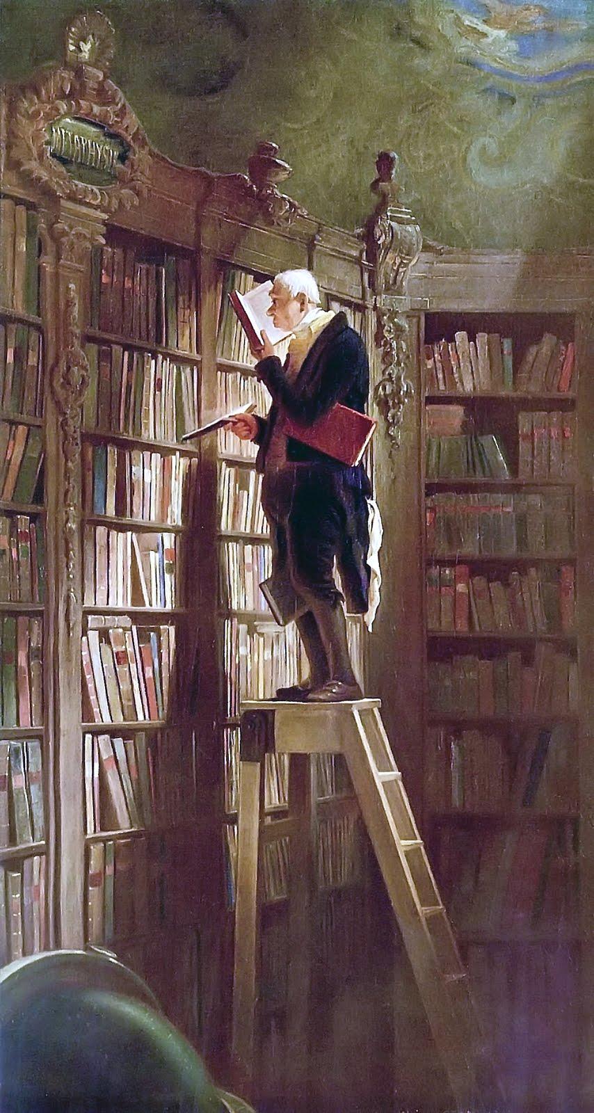 El ratón de biblioteca