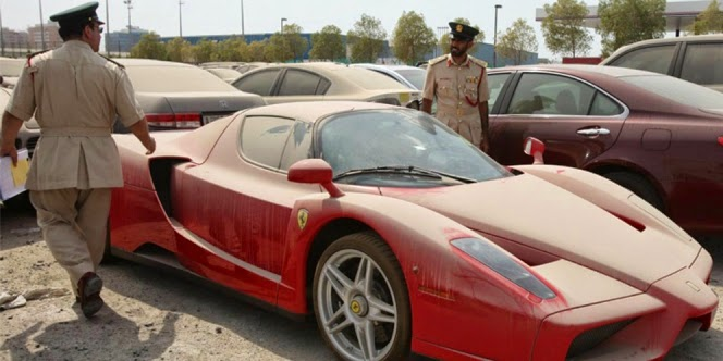 Mobil seharga Rp14,7 miliar Di Buang Pemiliknya