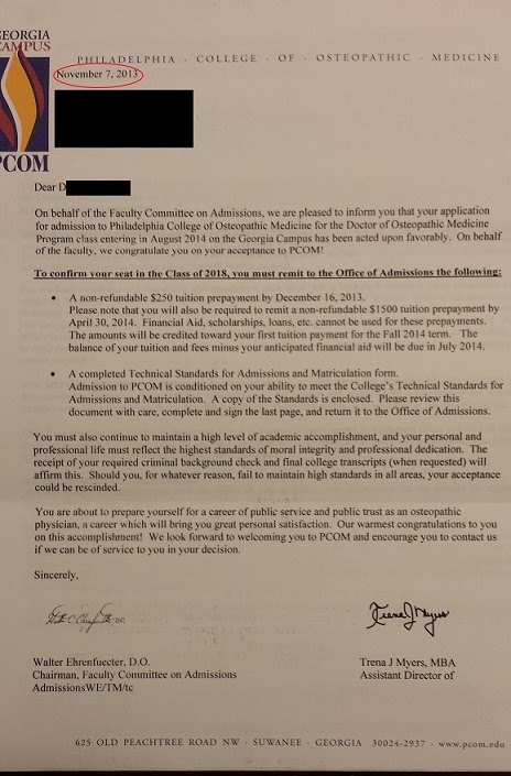 Aspiring Minority Doctor Dealing With Rejection