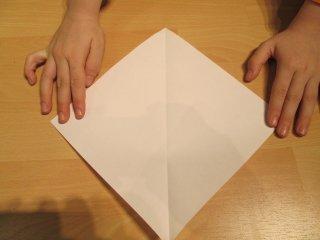 vierkantig stuk papier