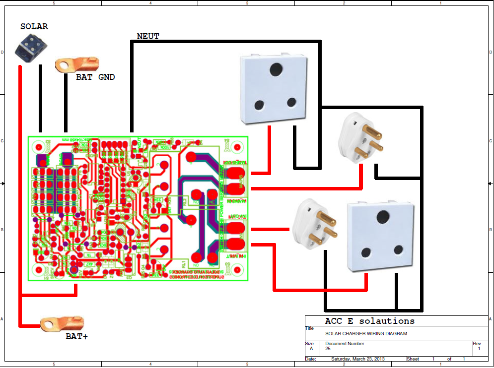 acc e-solutions : solar charge controllers solar charge controller wiring diagram