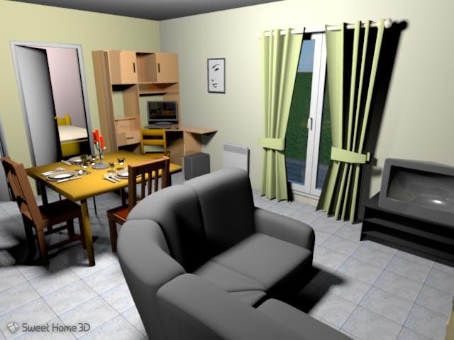 programma gratuito 3d per arredare interni di una casa guide informatica. Black Bedroom Furniture Sets. Home Design Ideas