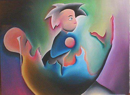 cuore dipinti pittura orme magiche quadro dipinto disegno pittura spirituale arte zen
