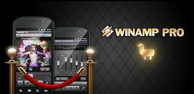 Aplikasi Musik Android Winamp Pro