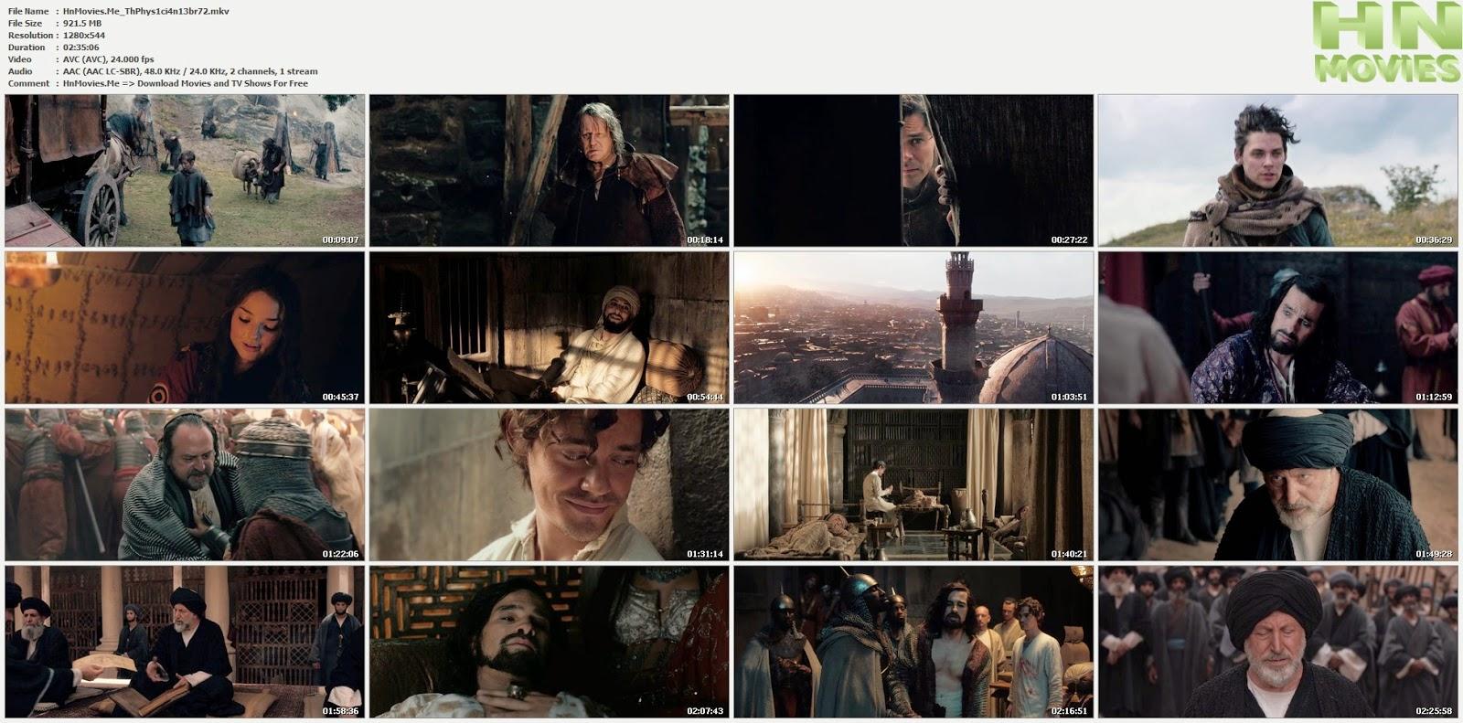 movie screenshot of The Physician fdmovie.com