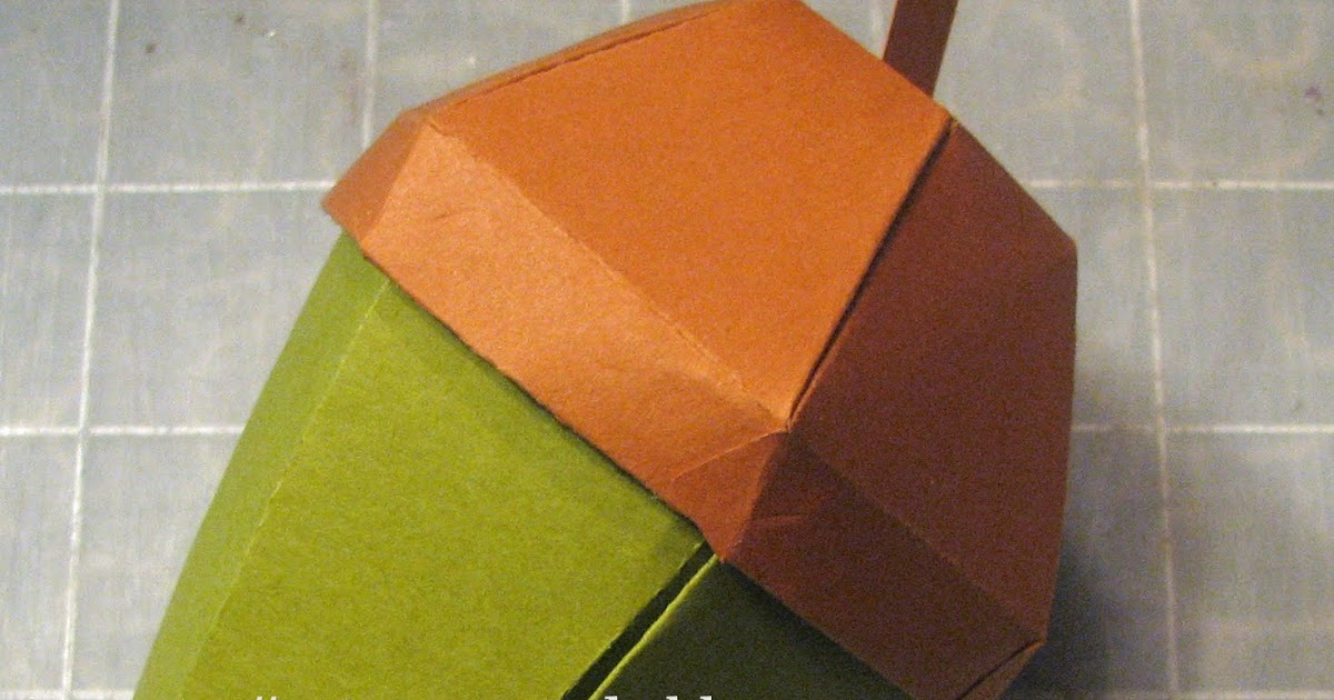 extreme cards and papercrafting  acorn box tutorial