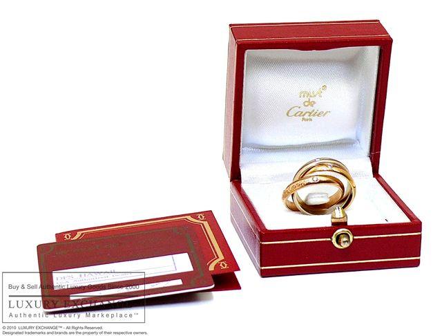 Кольцо из трех видов золота