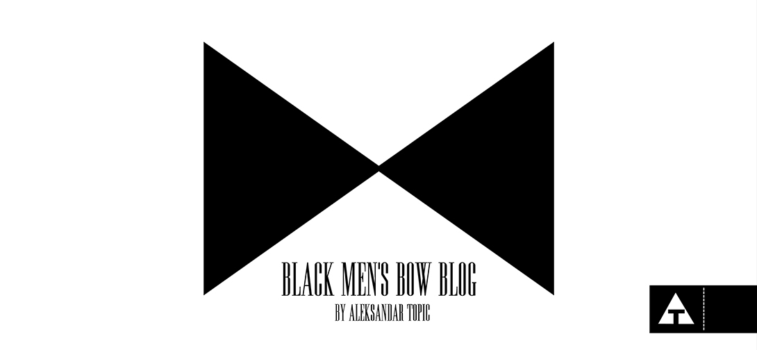 Black Men's Bow