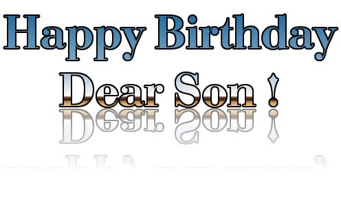 Birthday Sms For Son Birthday