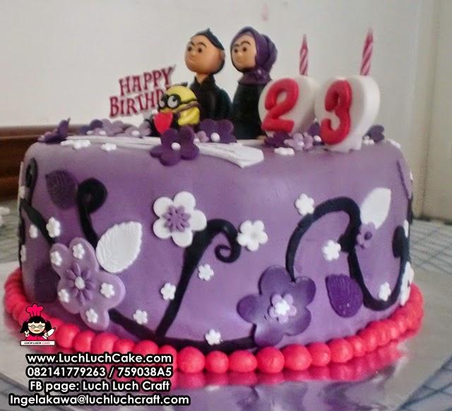 kue tart pertunangan daerah surabaya - sidoarjo