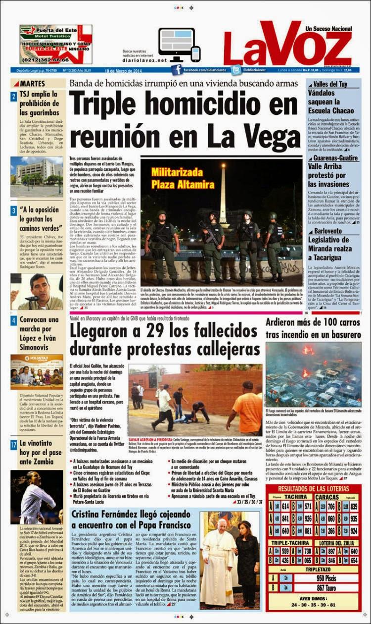 """Diario """"El Periódico de Monagas """""""