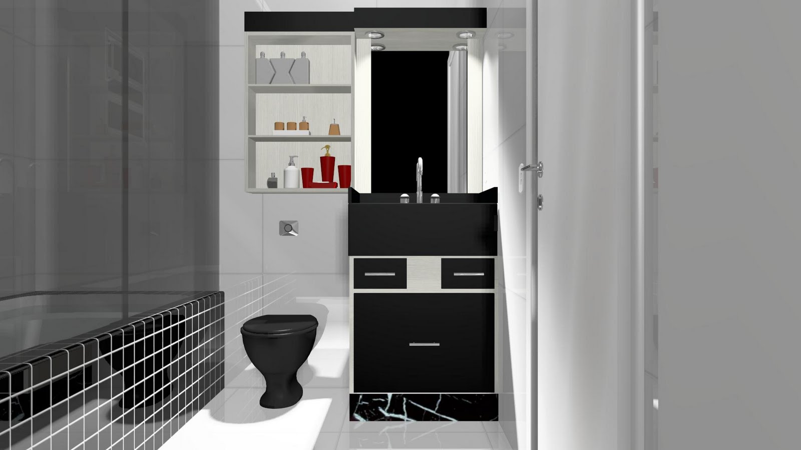 banheiros pequenos e bonitos papel de parede to download banheiros  #692524 1600 900