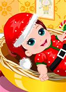 Первое Рождество малыша - Онлайн игра для девочек
