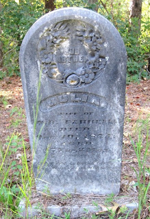 Grave of Julia Hyde Ferrell