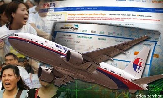 China, MAS, MH370, Malaysia, Nazri Aziz