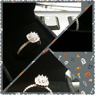 Cushion Cut Cz Wedding Rings