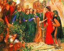 Dante e Beatrice Vita Nuova