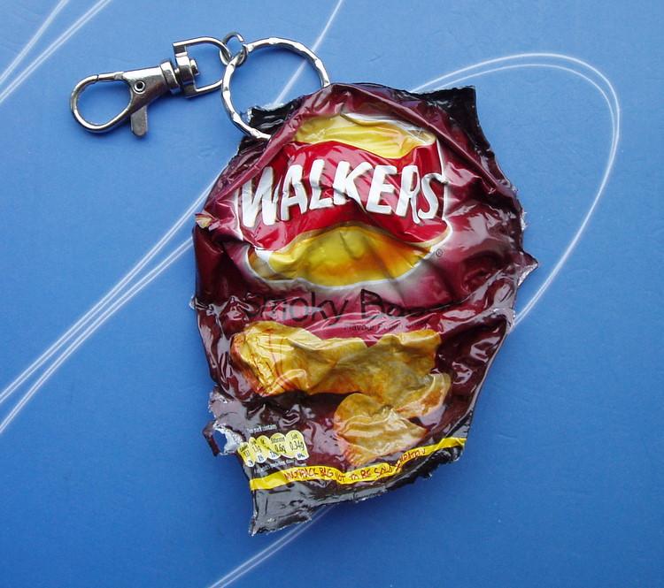 Shrinking Crisp Packets. Dressing Up and Shrunken Crisp
