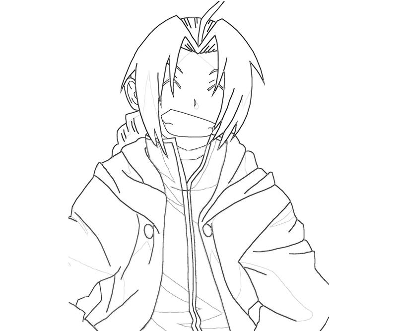 edward-elric-smile-coloring-pages