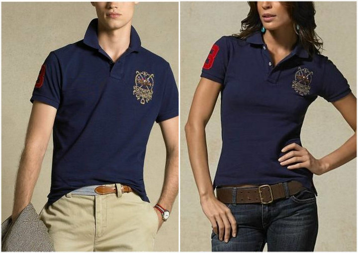Polo ralph lauren couple shirt grade aaa lurvelara for Couple polo shirts online