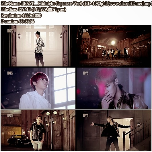 Download PV BEAST (B2st/ 비스트) - Midnight (별헤는밤) (Japanese Version) (MTV Rip Full HD 1080p)