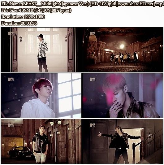 Download PV BEAST (B2st/ 비스트) - Midnight (별헤는밤) (Japanese Version) (MTV Rip Full HD 1080p)