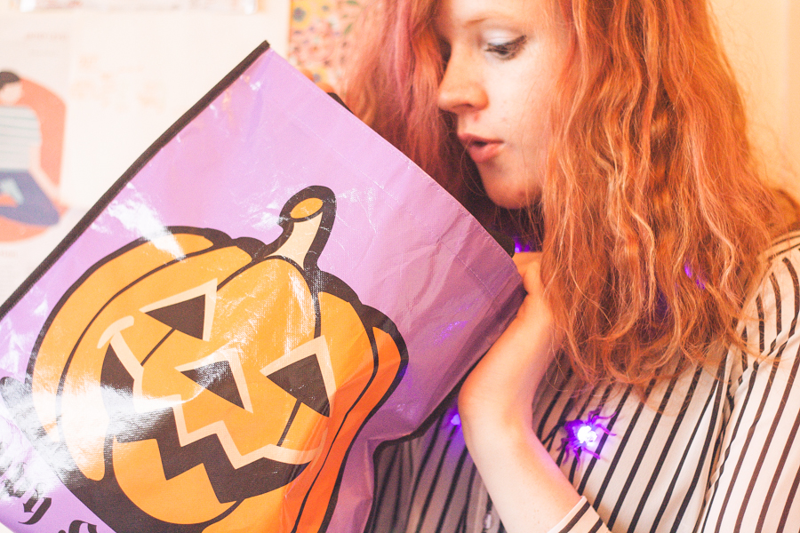 Trick or Treat Halloween Goodie Bag from Dealz