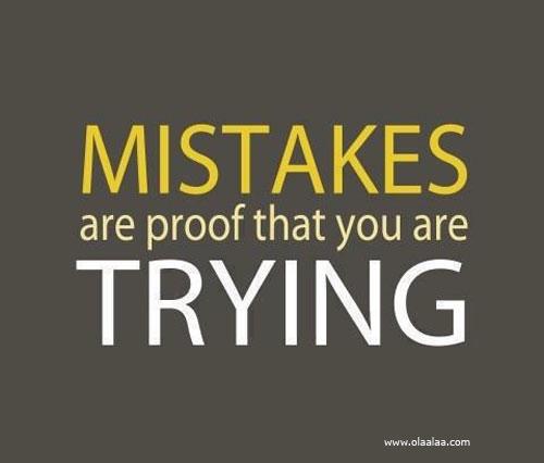 Mistakes happen....