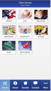 Catholic Vote, Voting App