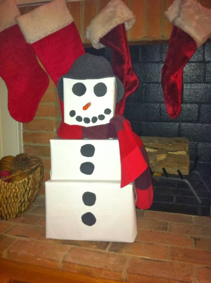 Two Magical Moms Snowman Tower Of Gifts