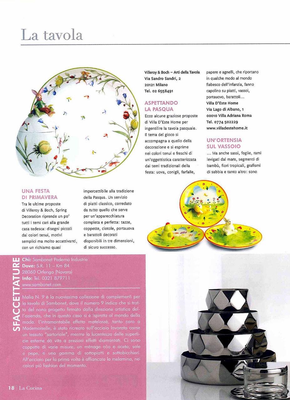 Disegno la cucina del corriere : Villa d'Este Home Tivoli: aprile 2011