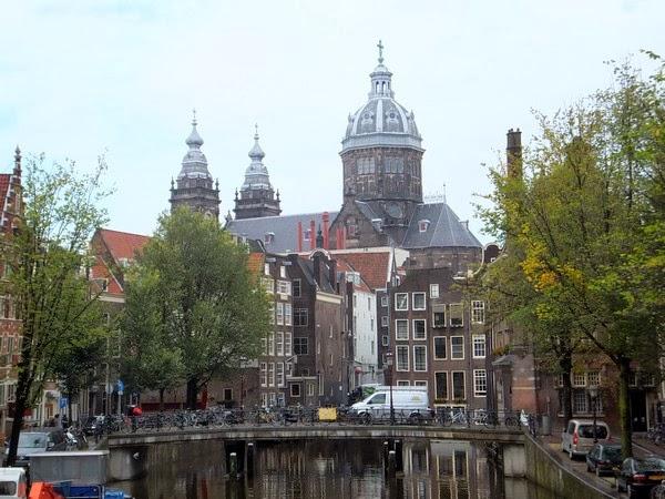 amsterdam centre médiéval st nicolaaskerk