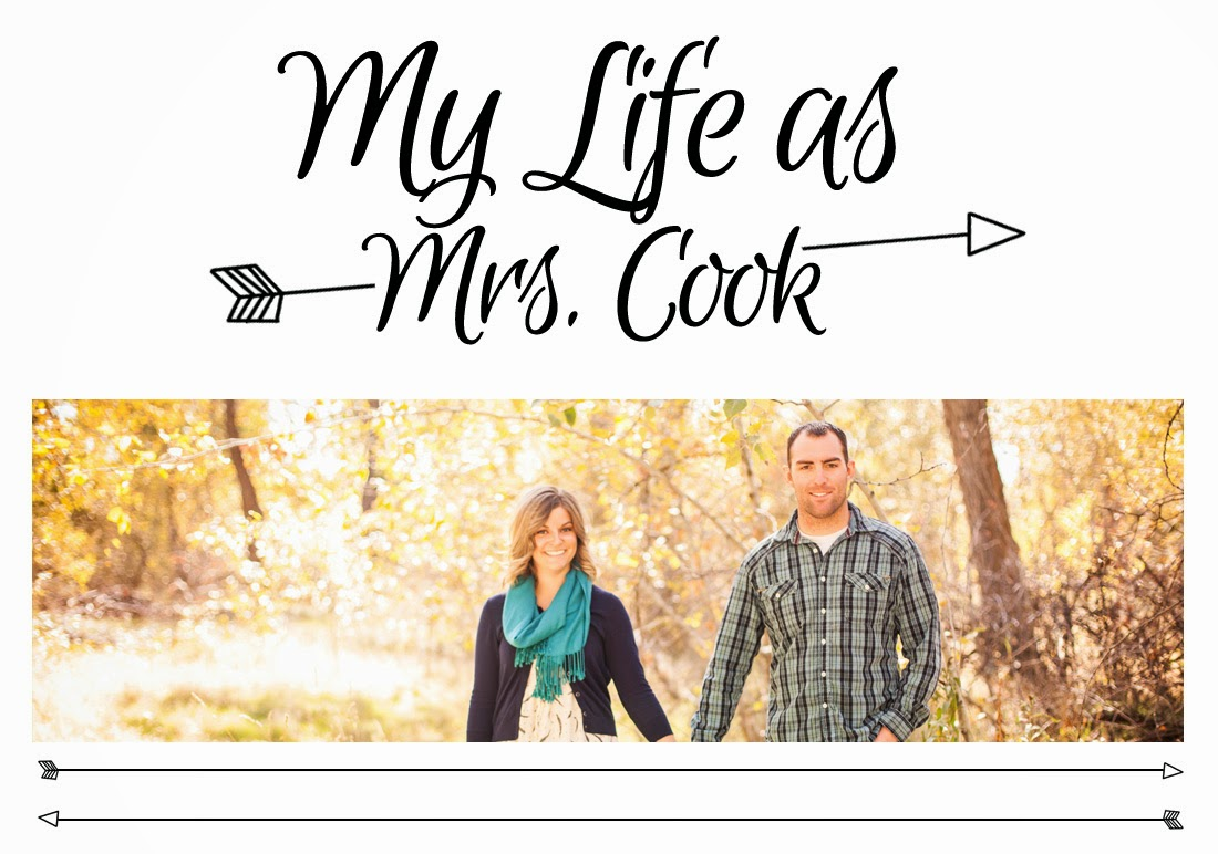 Life as Mrs.Cook