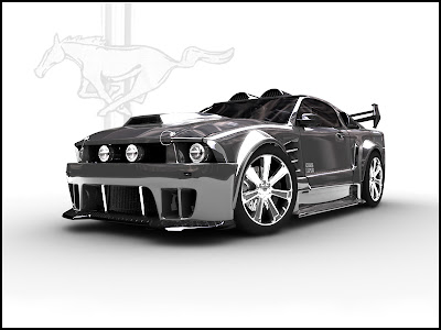 Ford Mustang GT Custom by CanisLoopus