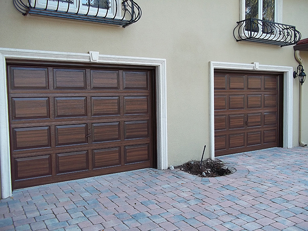 Stain a garage door everything i create paint garage for Paint garage door to look like wood
