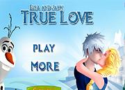 Elsa y Jack True Love